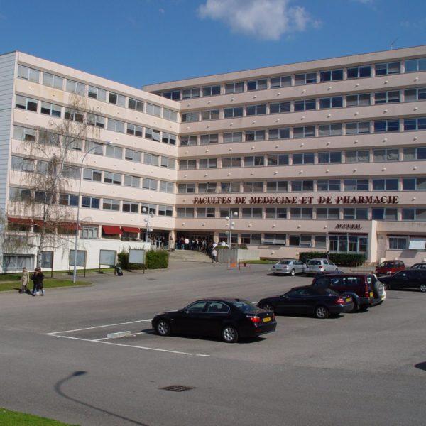 Bâtiment des facultés de médecine et de pharmacie de l'université de Limoges